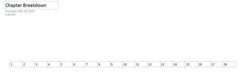 Screenshot showing a table with cells labeled 1 through 18.