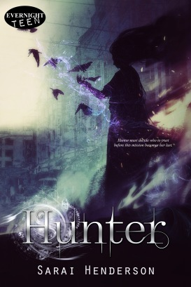 The cover of HUNTER by Sarai Henderson.