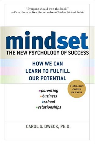 Cover of Minset: The New Psychology of Success.